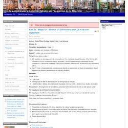 EMI 6e: Etape 1/4- Séance 1/1 Découverte du CDI et de son règlement
