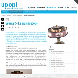 Fabriquer un praxinoscope