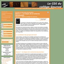 Séquence formation infodoc