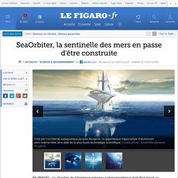 SeaOrbiter, la sentinelle des mers en passe d'être construite
