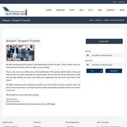 Seaport and Airport Transfers UK