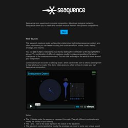 seaquence :about