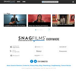 Watch Free Movies and Documentaries Online