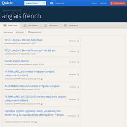 Search › anglais french