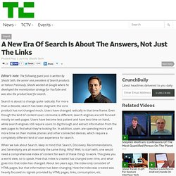 A New Era Of Search Is About The Answers, Not Just The Links