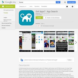 Got Apps? : Search for apps.