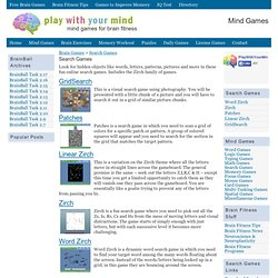 brain games for mental fitness