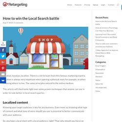 How to win the Local Search battle - Retargeting Blog