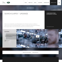 Jaguar Land Rover Careers – Excellence In Motion