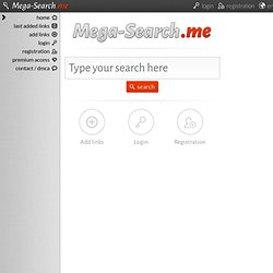Mega-search.me
