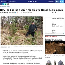 New lead in the search for elusive Norse settlements