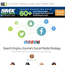 Search Engine Journal's Social Media Strategy