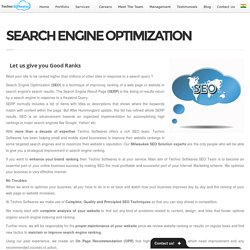 SEARCH ENGINE OPTIMIZATION -