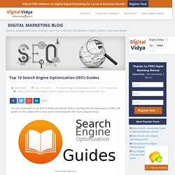 Top 10 Search Engine Optimization (SEO) Guides