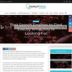 10 Best Search Engines Going Around