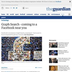 Graph Search - coming to a Facebook near you