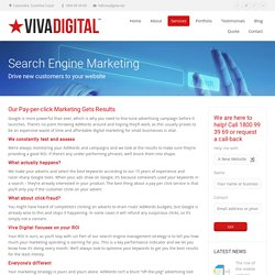 Search Engine Marketing and PPC Marketing - Viva Digital