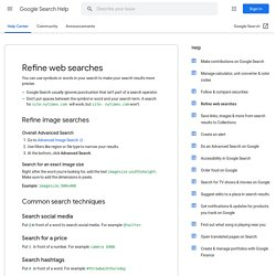 Advanced Google Search Operators