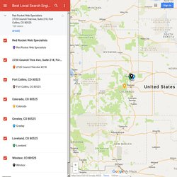 Best Local Search Engine Optimization Fort Collins – Google My Maps