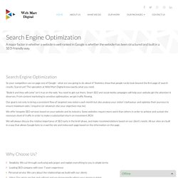 Search Engine Optimization - Web Mart Digital