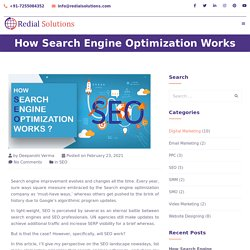 How SEO or Search Engine Optimization Works, Exactly