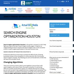 SEARCH ENGINE OPTIMIZATION HOUSTON