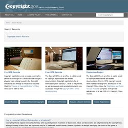 Search Copyright Records