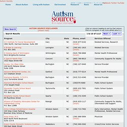 Search Results - Autism Source by ASA