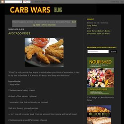 Search results for avocado fries