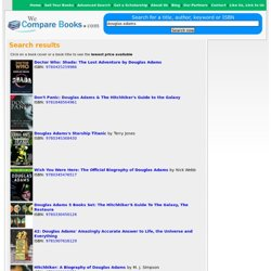 Search results for douglas adams