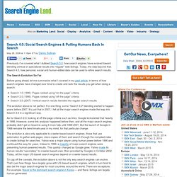 Search 4.0: Social Search Engines & Putting Humans Back In Searc