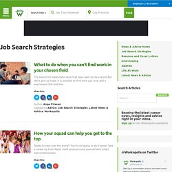 Job Search Strategies – Workopolis