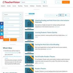 Search - TeacherVision