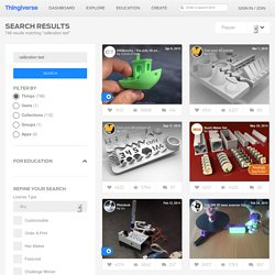 Search Thingiverse