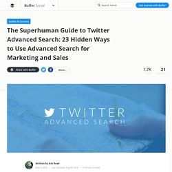 How to Search Twitter Like a Superstar [The Free Guide]