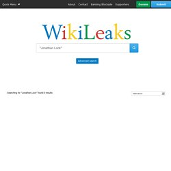 Search WikiLeaks