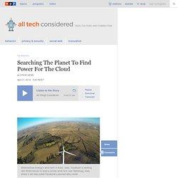 Buscar en la Planet encontrar energía para la nube: All Tech Considerado