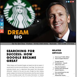 Searching for Success: How Google Became Great