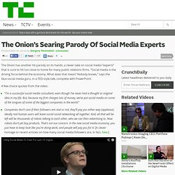 The Onion's Searing Parody Of Social Media Experts