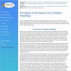 Sears List