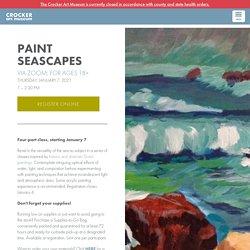 Paint Seascapes - Thursday, January 7, 2021