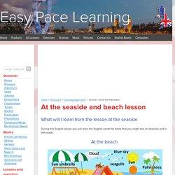 Seaside - beach learning English