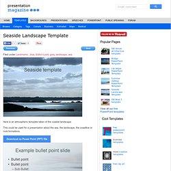 Seaside Landscape Template