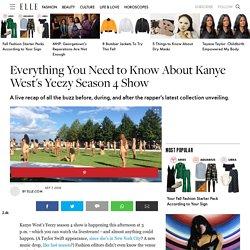 Kanye West's Yeezy Season 4 Show Recap - Everything That Happened During Kanye's NYFW Show