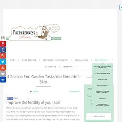 4 Season Ens Garden Tasks You Shouldn't Skip