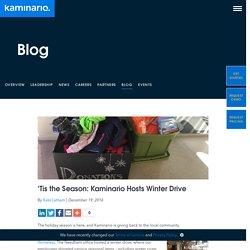 'Tis the Season: Kaminario Hosts Winter Drive - Kaminario