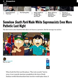 South Park Season 21 Premiere Took on White Supremacists