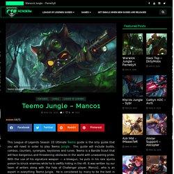 Teemo Jungle Guide Season 10