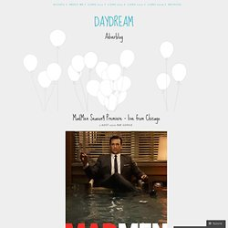 MadMen Season4 Premiere – live from Chicago