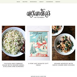 alexandra's kitchen — recipes, photos, food